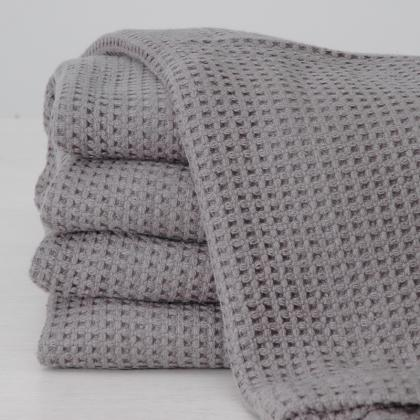 100% COTTON HERRINGBONE WEAVE HOTEL BLANKET