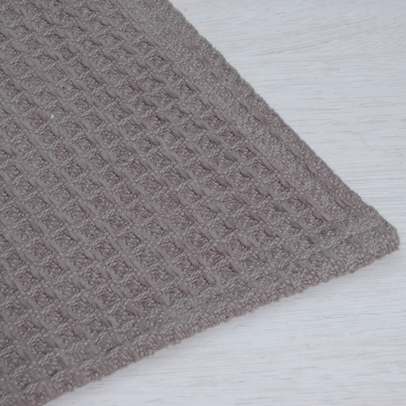 100% COTTON WAFFLE WEAVE CHENILLE BLANKET