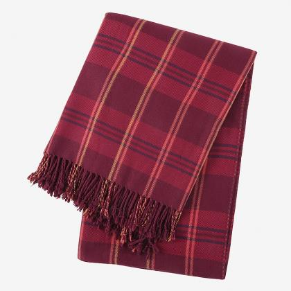 100% BAMBOO PLAIDS THROW