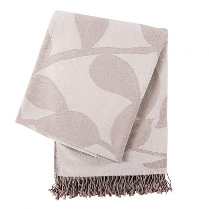 ULTRA SOFT NATURAL BAMBOO COTTON MIXED THROW BLANKET