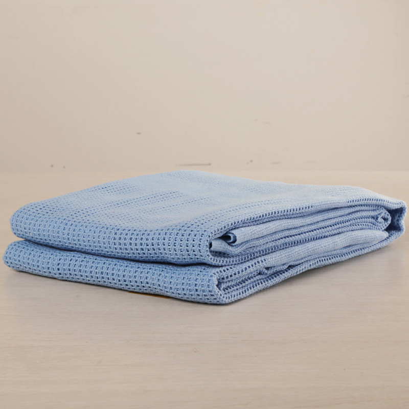 FRB-P 100% POLYESTER FIRE RETARDENT CELLULAR BLANKET, FLAME RETARDENT CELLULAR BLANKET