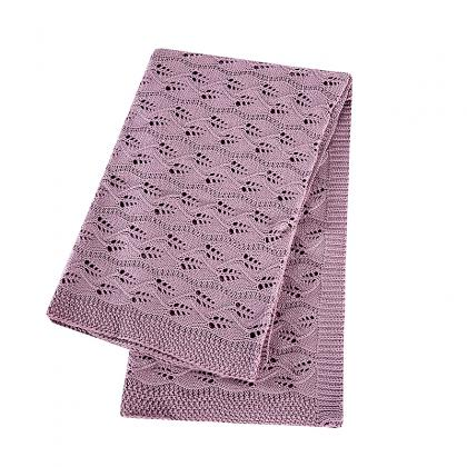 OCB-K19061 ECO FRIENDLY 100% GOTS CERTIFIED ORGANIC COTTON BABY BLANKET