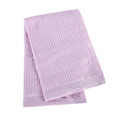 OCB-1509 ECO FRIENDLY 100% GOTS CERTIFIED ORGANIC COTTON BABY BLANKET